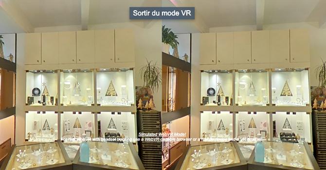 mode réalité virtuelle visite virtuelle